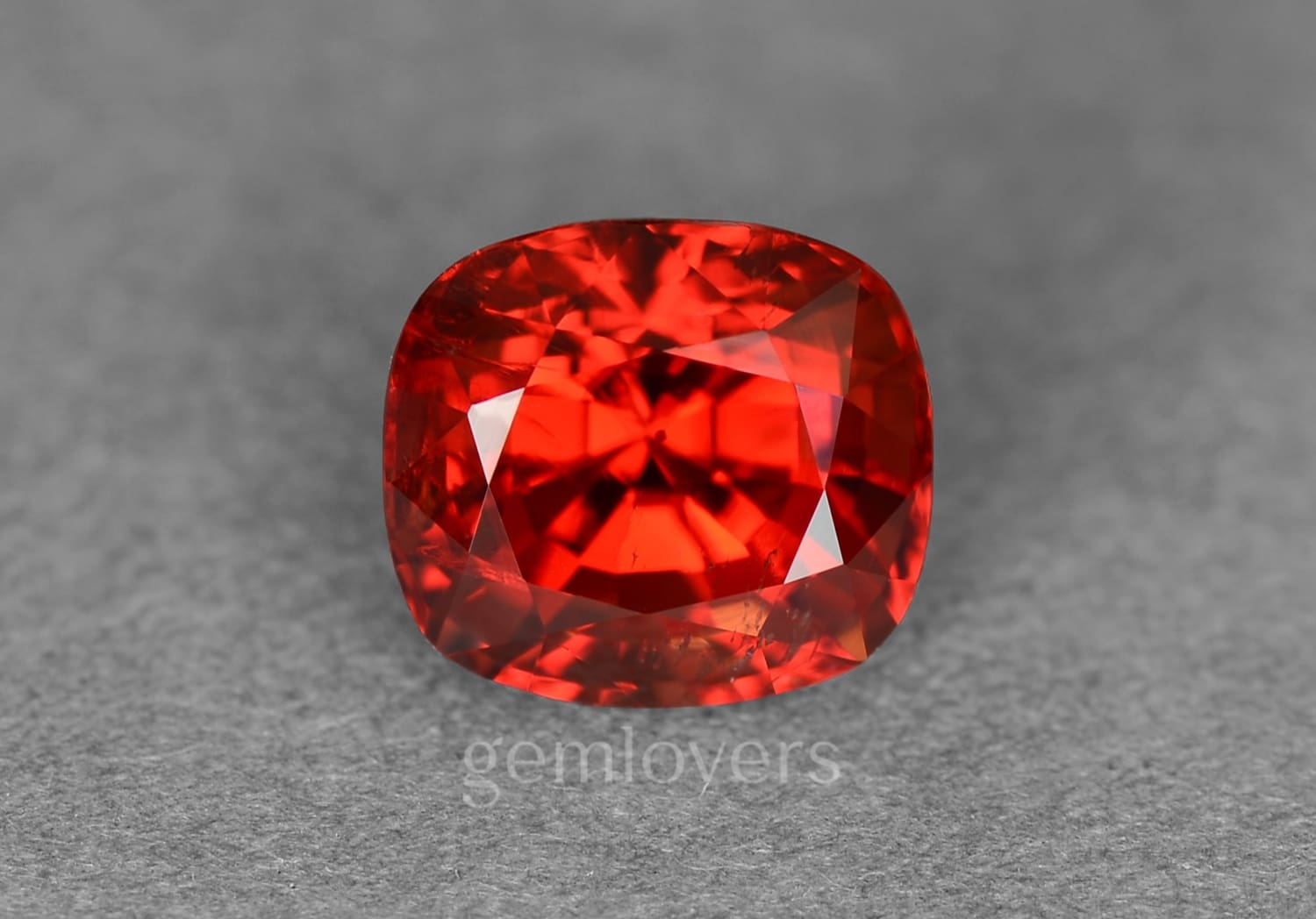 Burmese bright red spinel