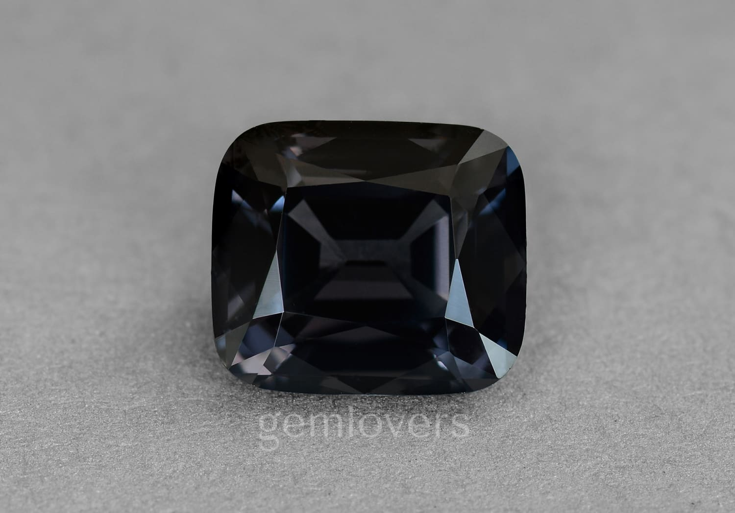 Natural Black Spinel from Myanmar