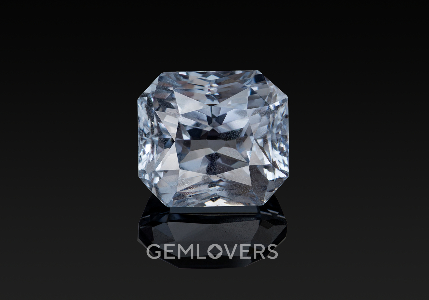 White (colorless) sapphire