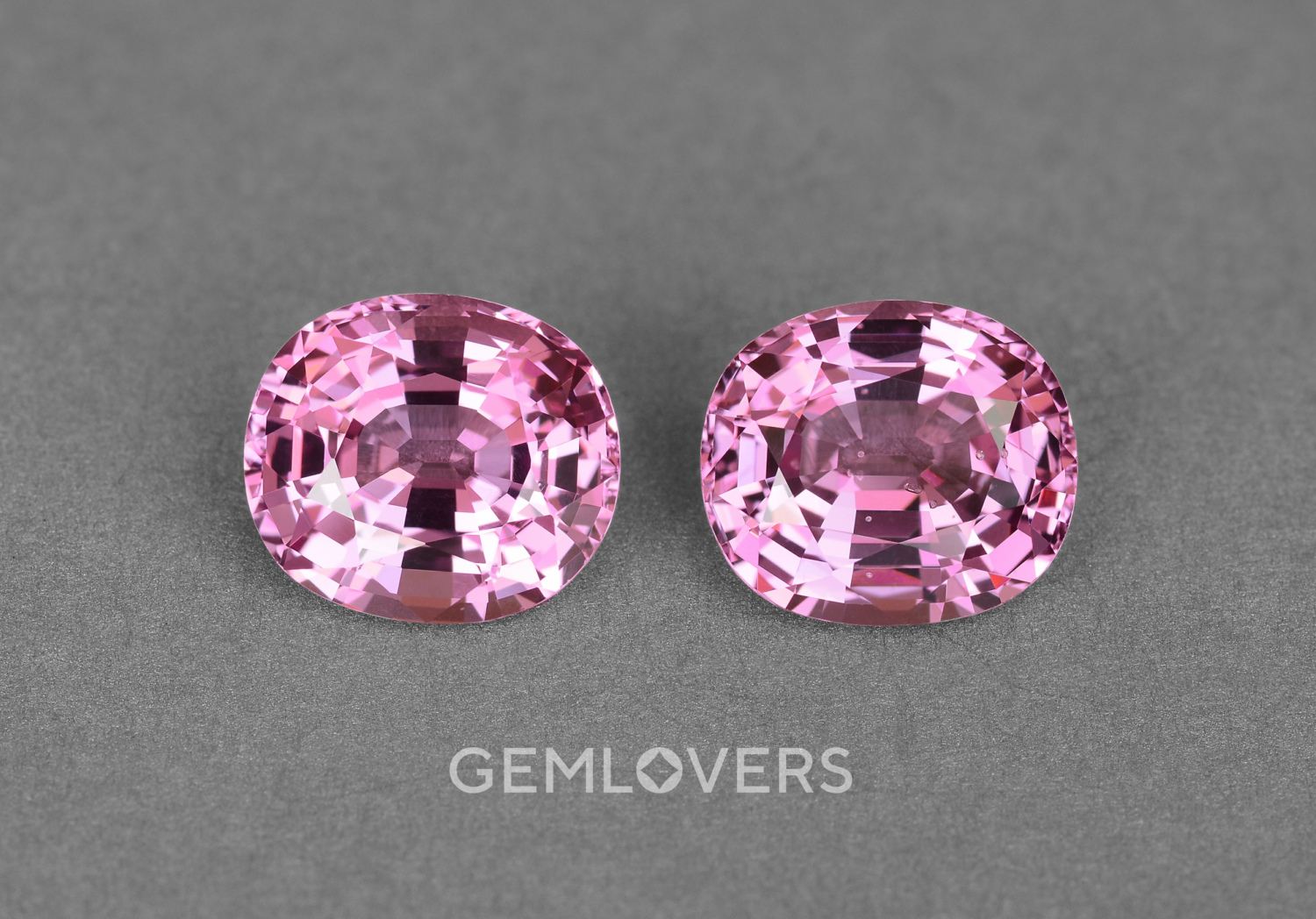 Pink spinels from Burma