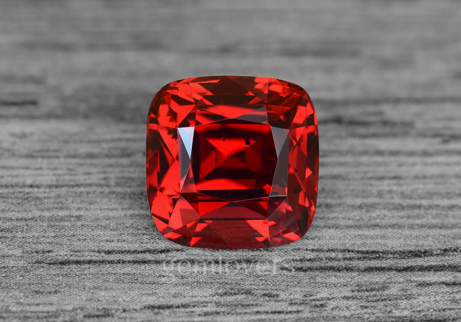 Red spinel stone
