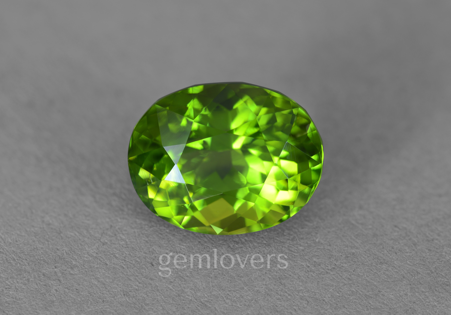 Natural chrysolite from Pakistan