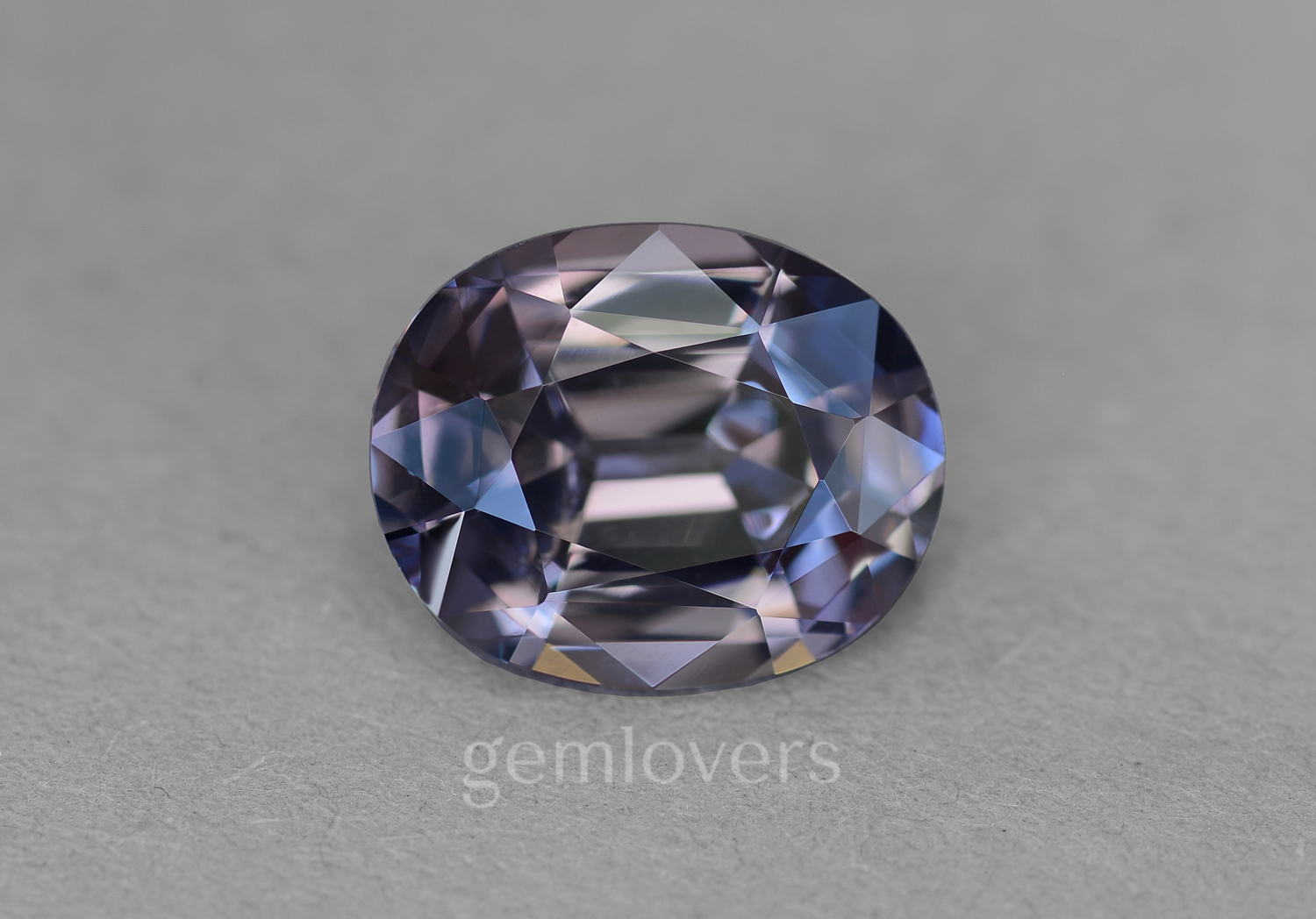 Natural gray spinel from Burma