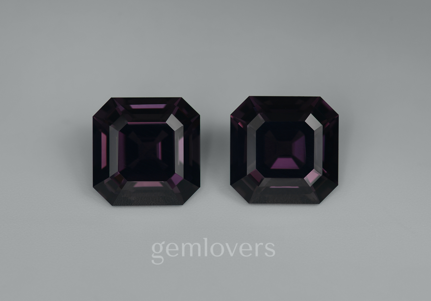 A pair of black spinels from Burma
