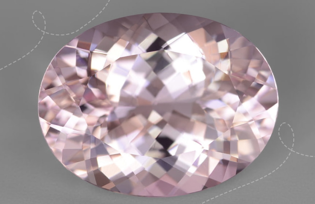History and legends about natural morganite gemstone