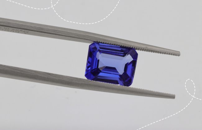 styles of earrings with tanzanite