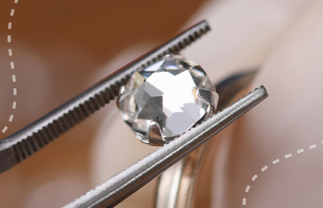 moissanite and how is it different