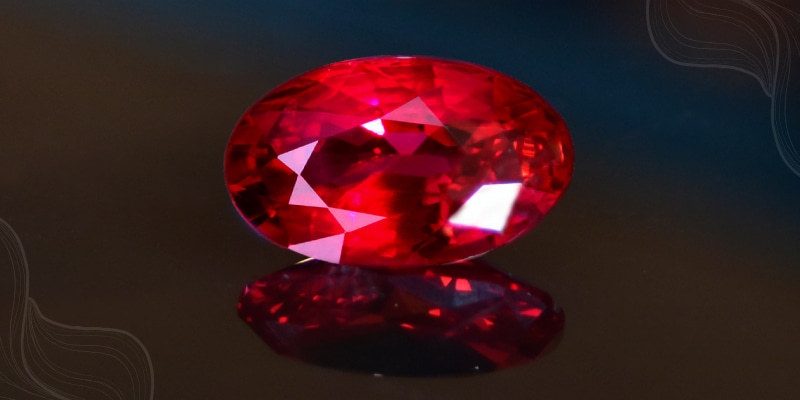 Glass-filled rubies