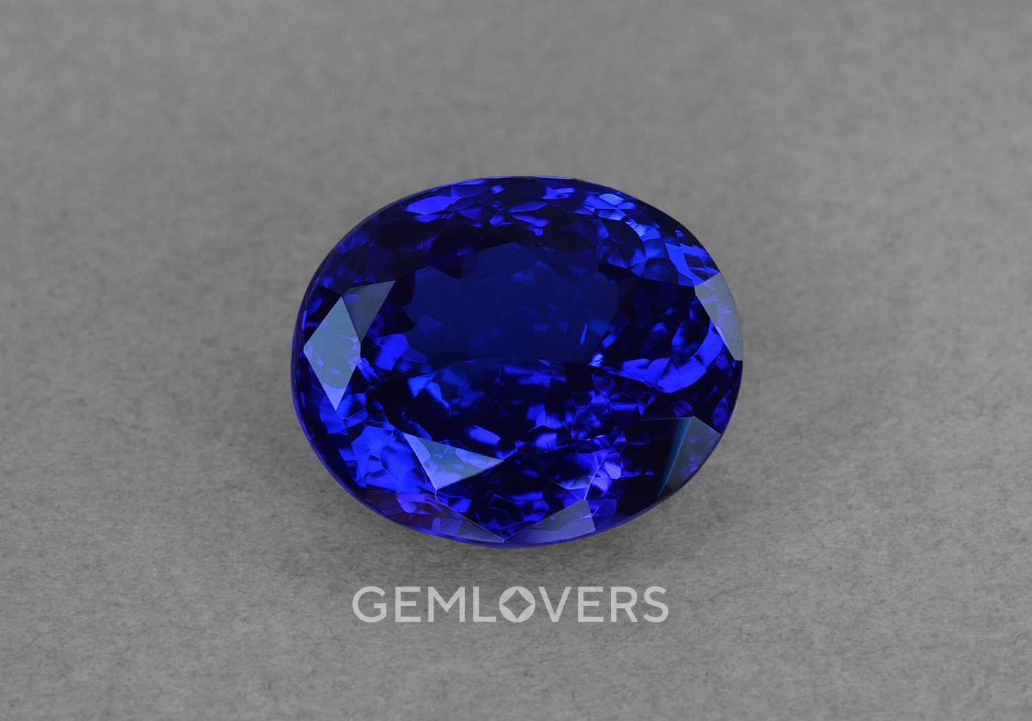 Large faceted tanzanite from Tanzania