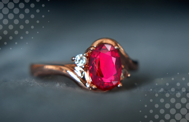 Determine the quality of the ruby