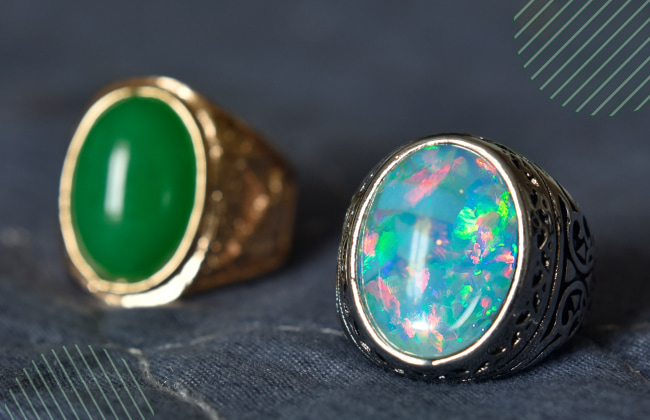 meaning of green opal